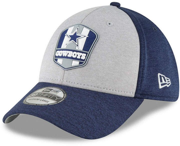 a0e056f67 New Era Dallas Cowboys On Field Sideline Road 39THIRTY Stretch Fitted Cap