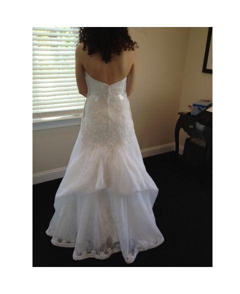 Wedding Dress Bustle: French Bustle