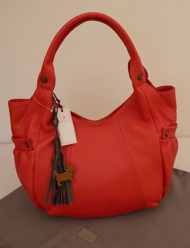 Radley Red Very Large Shoulder Bag Bnwt Marigold Rrp 189 New Ebay