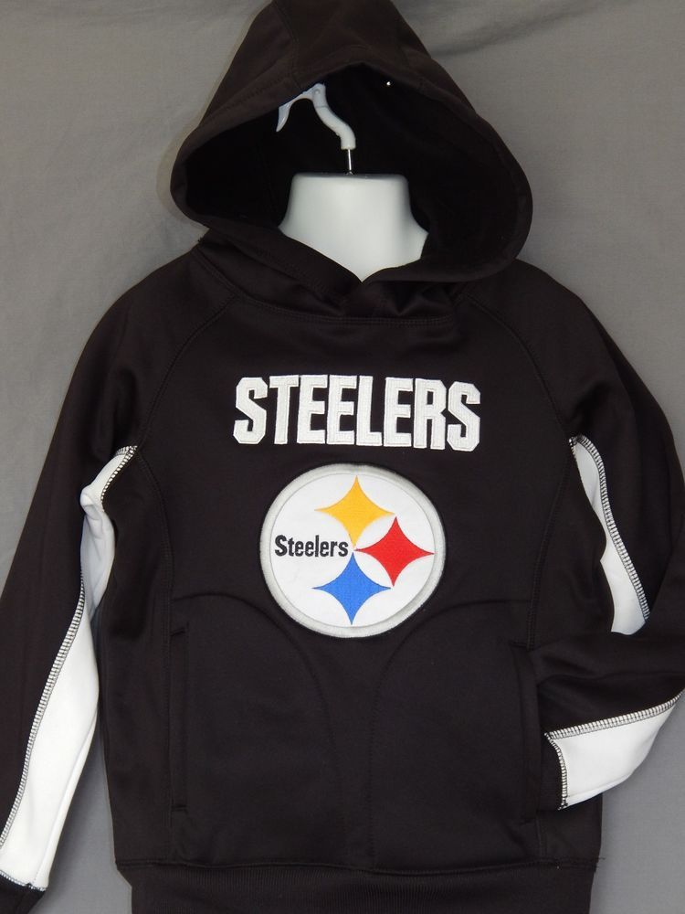 sports shoes 1881b 078fb Steelers Hoodie Youth Sizes NFL Team Apparel Old Navy ...