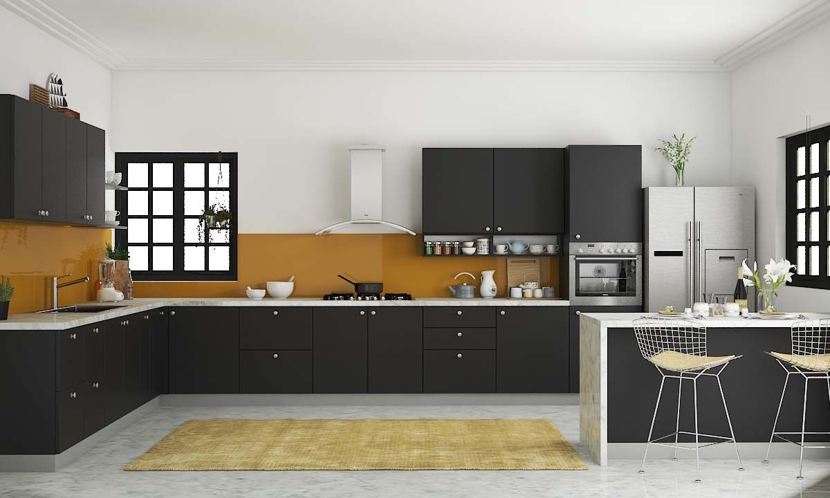 Modular Kitchen Designs Mangalore Kitchen L Shaped Kitchen