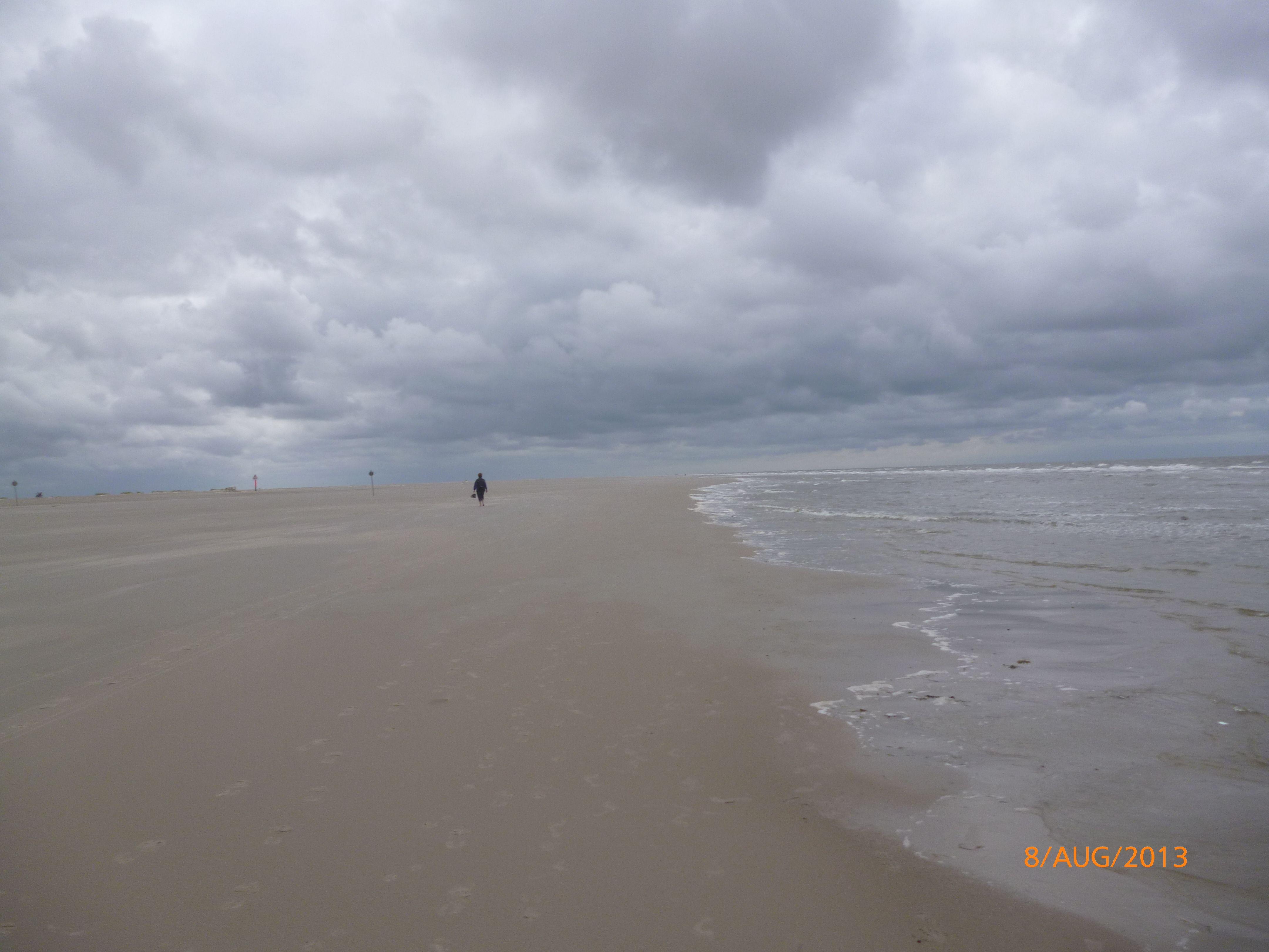 Der Urlaub dieses Jahr mit meinem Mann an der Nordsee, wo wir in St. Peter Ording romantische Stunden verbracht haben.