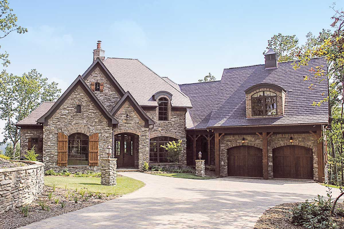 Photo of Plan 17505LV: French Country Dreaming