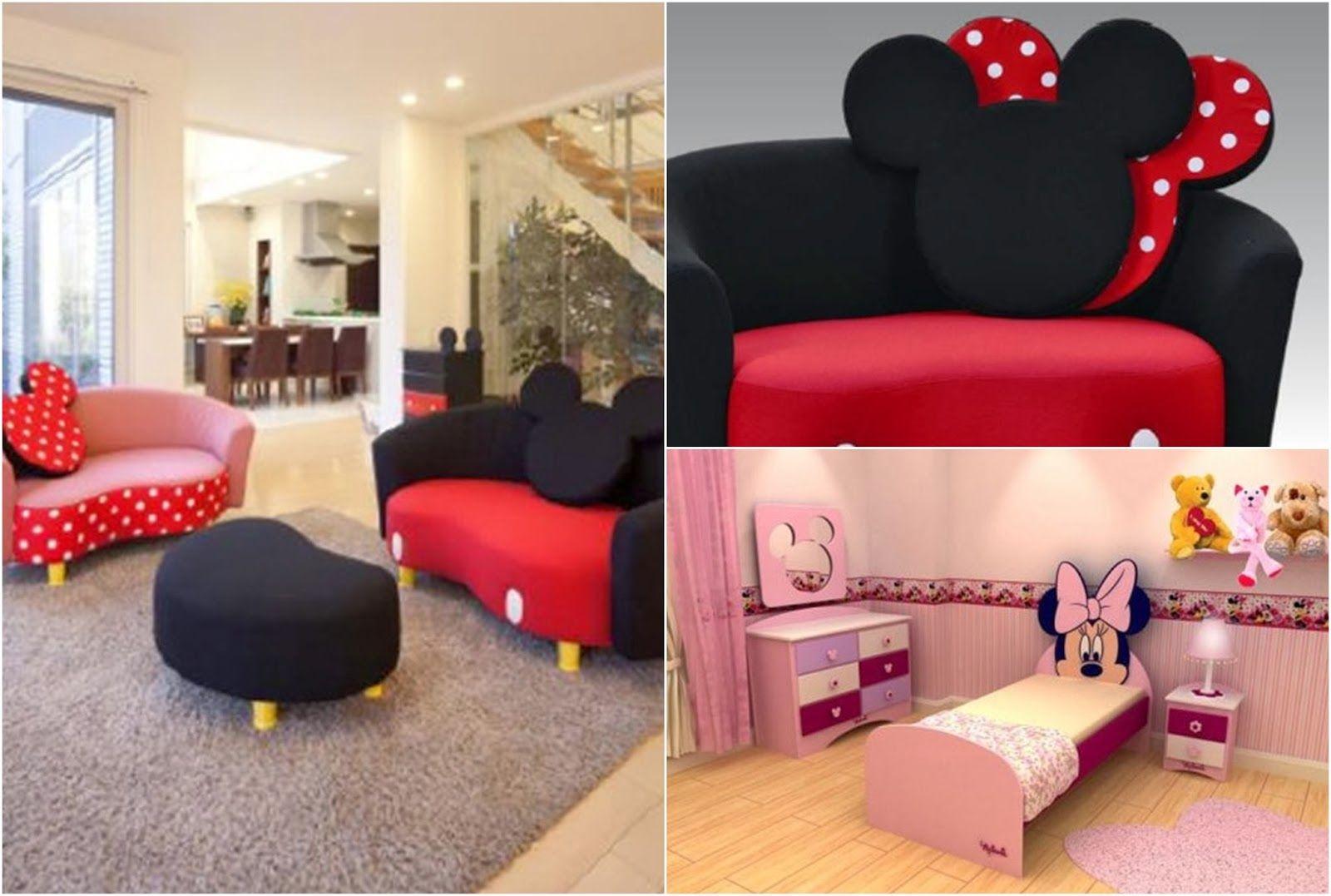 Dormitorio tem tico minnie mouse by cuarto mickey pinterest - Dormitorios infantiles tematicos ...
