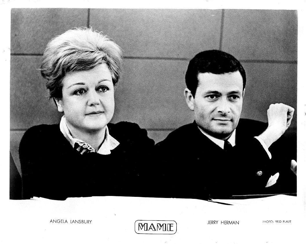 Angela Lansbury & Jerry Herman MAME Musical Comedy 1968
