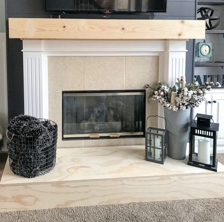 How To Build A Raised Fireplace Hearth Build A Fireplace Fireplace Hearth Fireplace Hearth Decor