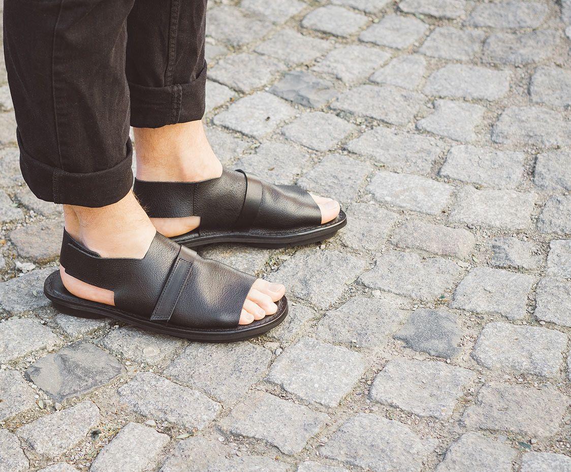 Closed SchwarzClothe Styles Sandal Shoes Sandale Trippen Herren eHbEYWD9I2