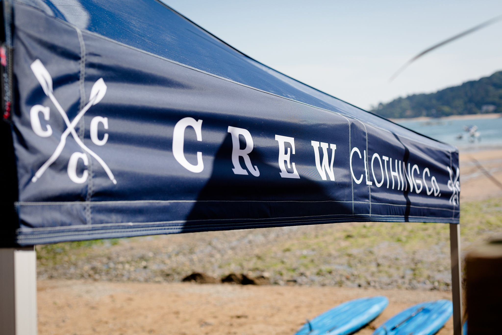 Keep an eye out for the Crew tent. #CrewSUP