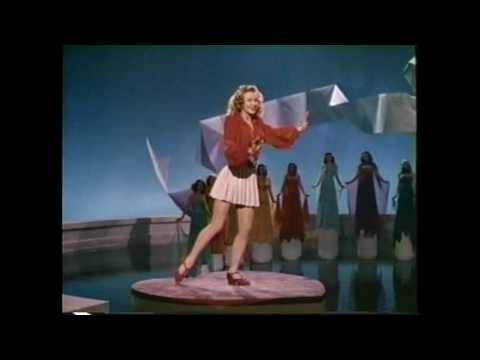 Vera Ellen More Toe Tapping At 1 58 In A Clearer Video Where