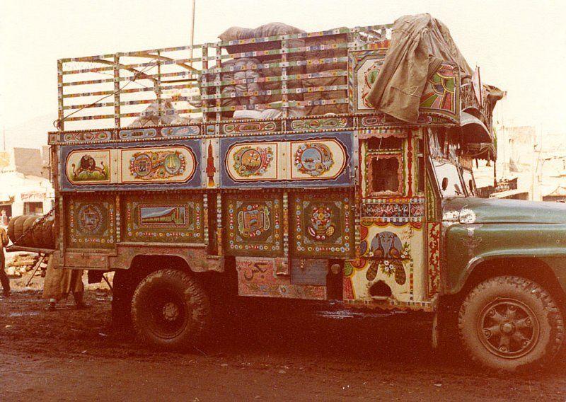 Afghanistan truck 1979.