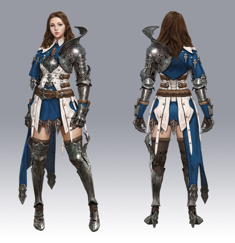 The Female Knight Production Guide: Hard Surface & Texturing