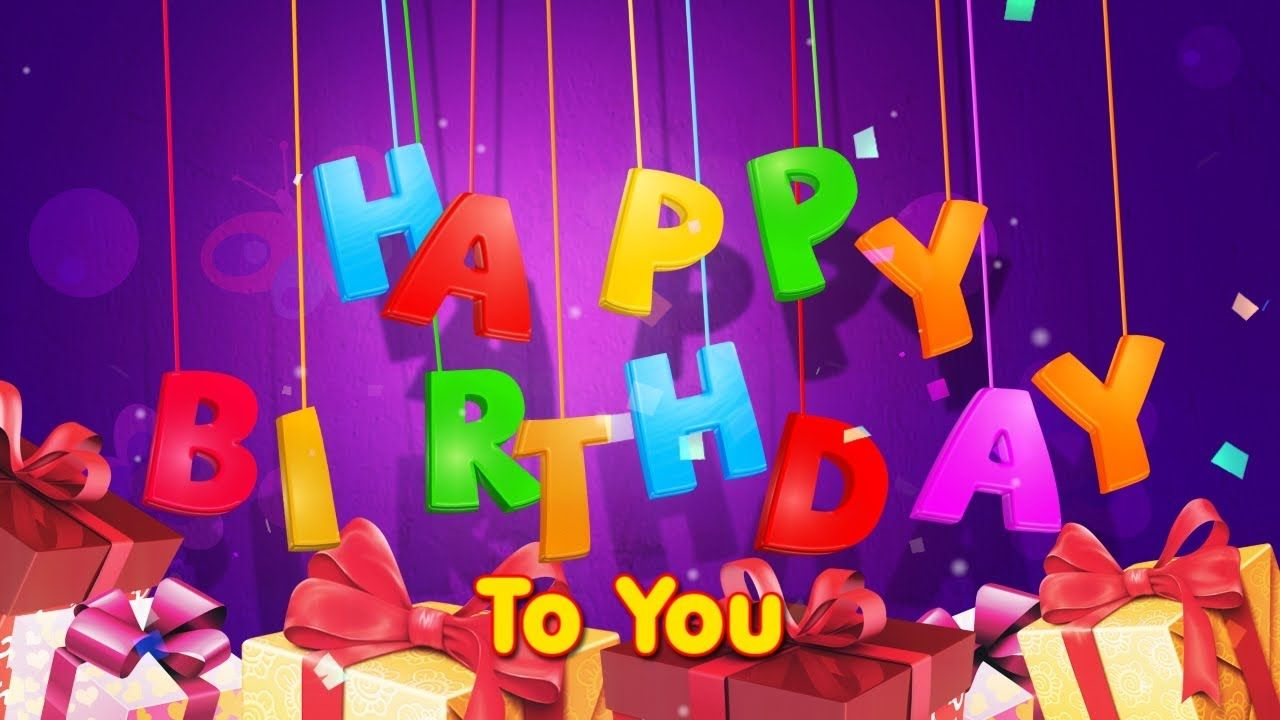 Happy birthday song (English Frensh Arabic Spanish