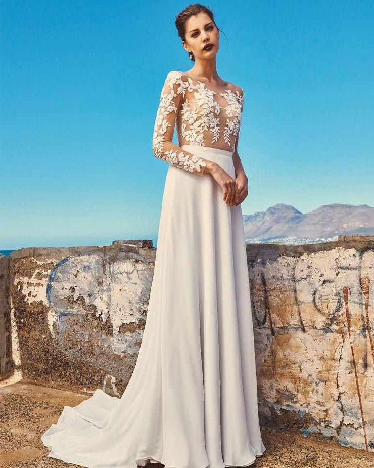 "Elbeth Gillis 2017 Wedding Dress ""Milk and Honey"" Bridal seperates collection : Tara+Shelby | itakeyou.co.uk"