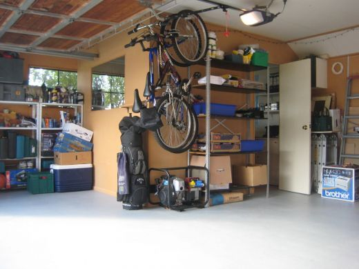 How To Build A Diy Office In Your Garage For Under 500 Dollars Diy Office Garage Office Diy Home Furniture