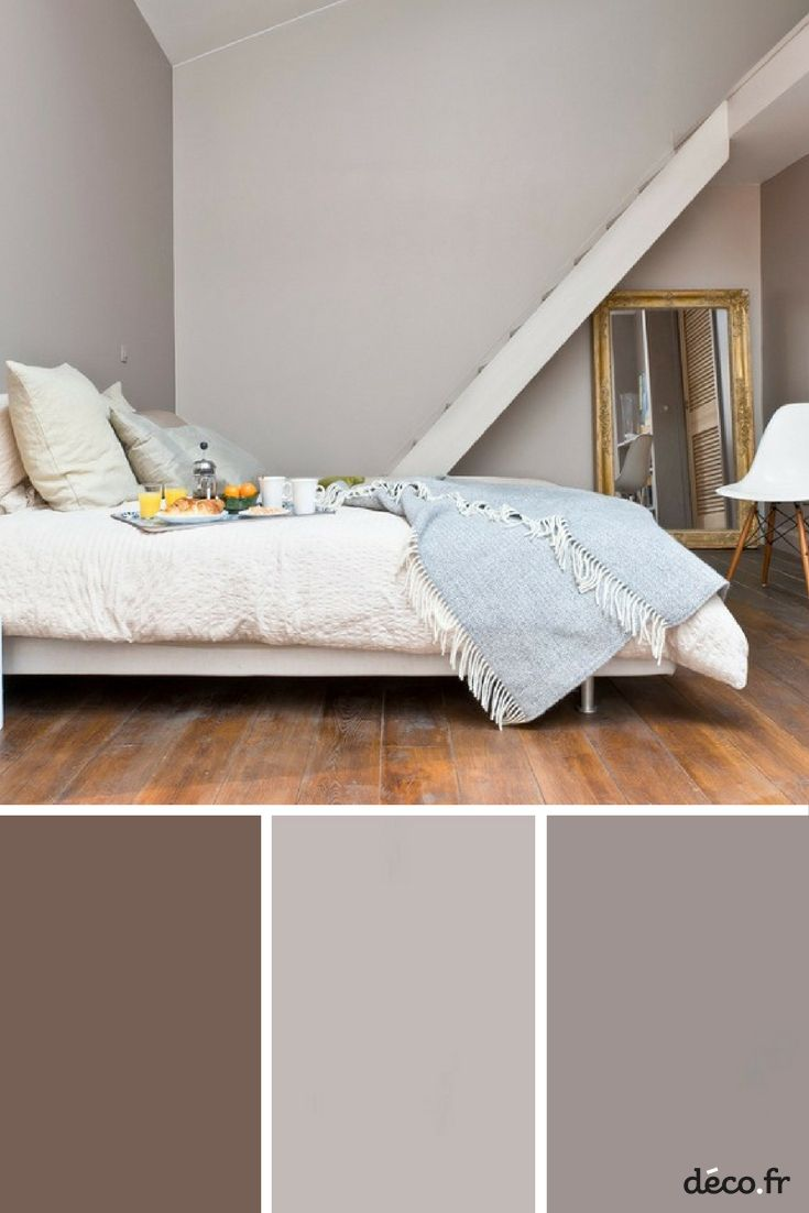 Deco Chambre Ton Taupe quelle couleur dans la chambre pour bien dormir ? | peinture