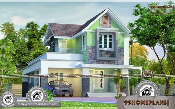 Small House Images In Kerala Style 90 Two Floor House Plans Designs Small House Images Kerala House Design 2 Storey House Design