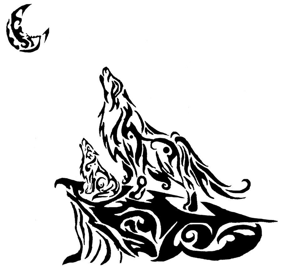Pin By Allison Kellis On Tattoo With Images Tribal Drawings Tribal Wolf Tattoo Wolf Pack Tattoo