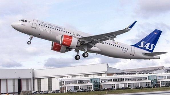 Sas Scandinavian Airlines A320neo Sas Aviation News Aircraft