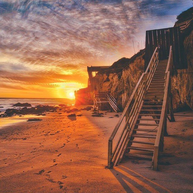 El Matador State Beach Malibu California Photo By @zt_ By
