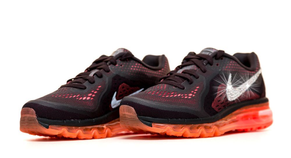 Women s Nike Air Max 360 Running Shoes By Glitter Kicks - Customized With  Swarovski Crystal Rhinestones 2ce1a2968c