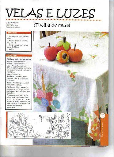 Coleção Faça Você - Pintura em tecido n 51 – lourdes – Webová alba Picasa