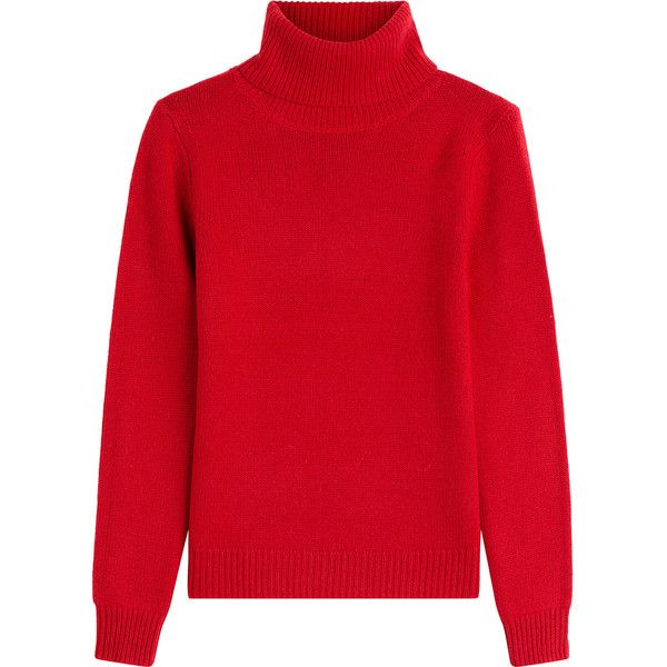 Vanessa Bruno Wool-Cashmere Turtleneck ($390) ❤ liked on Polyvore ...