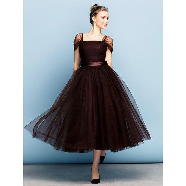 TS Couture® Formal Evening Dress Plus Size / Petite Ball Gown Square ...