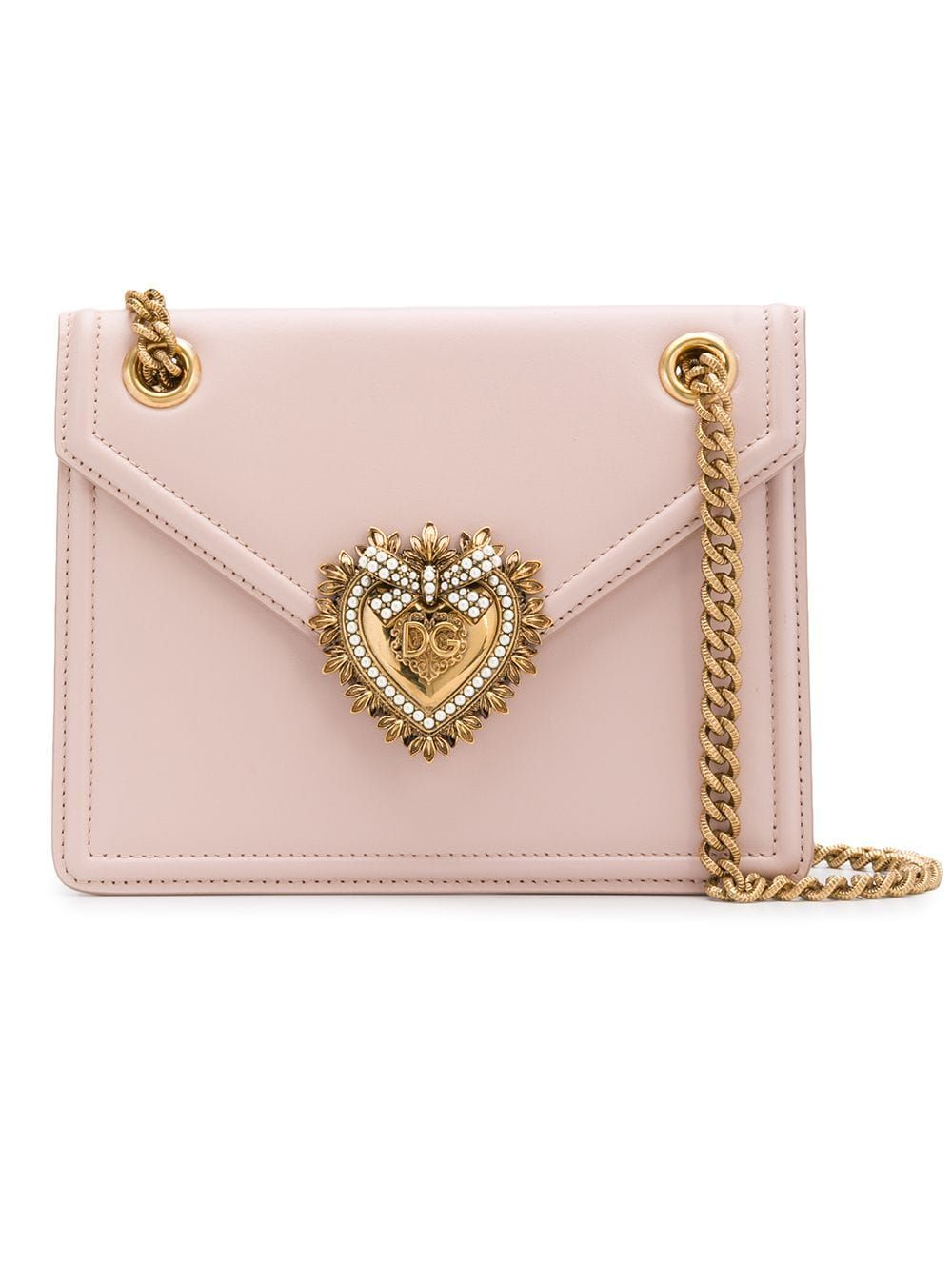 9db4c7ba1f6 Dolce & Gabbana medium Devotion bag - Pink in 2019 | Products | Bags ...