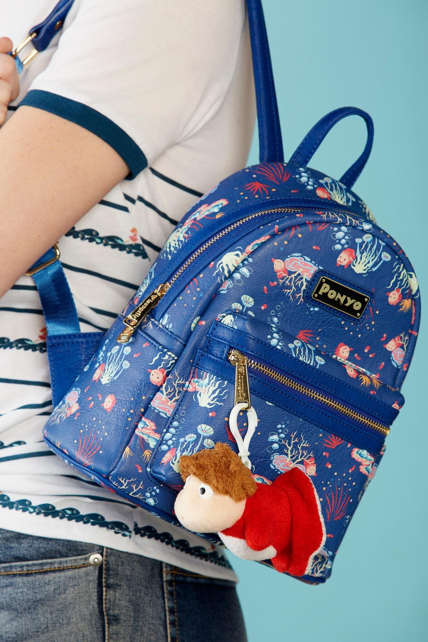 03676b557060 Loungefly Studio Ghibli Ponyo Mini Backpack - BoxLunch Exclusive in ...