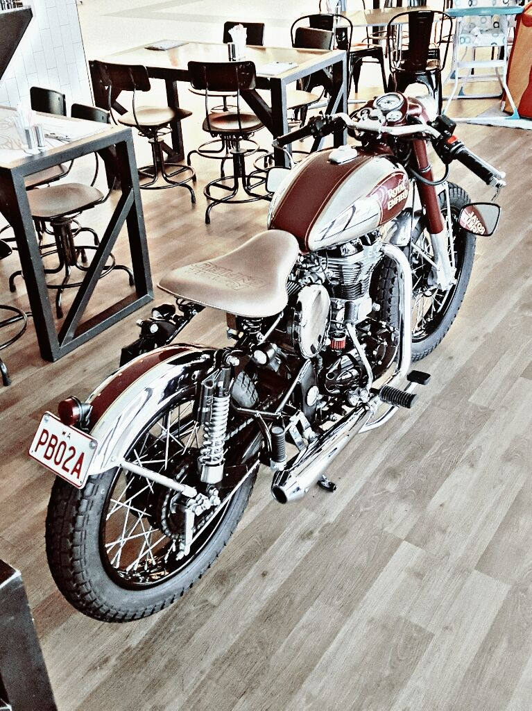 Royal Enfield aka Dr Chrome | Bike | Royal enfield, Royal