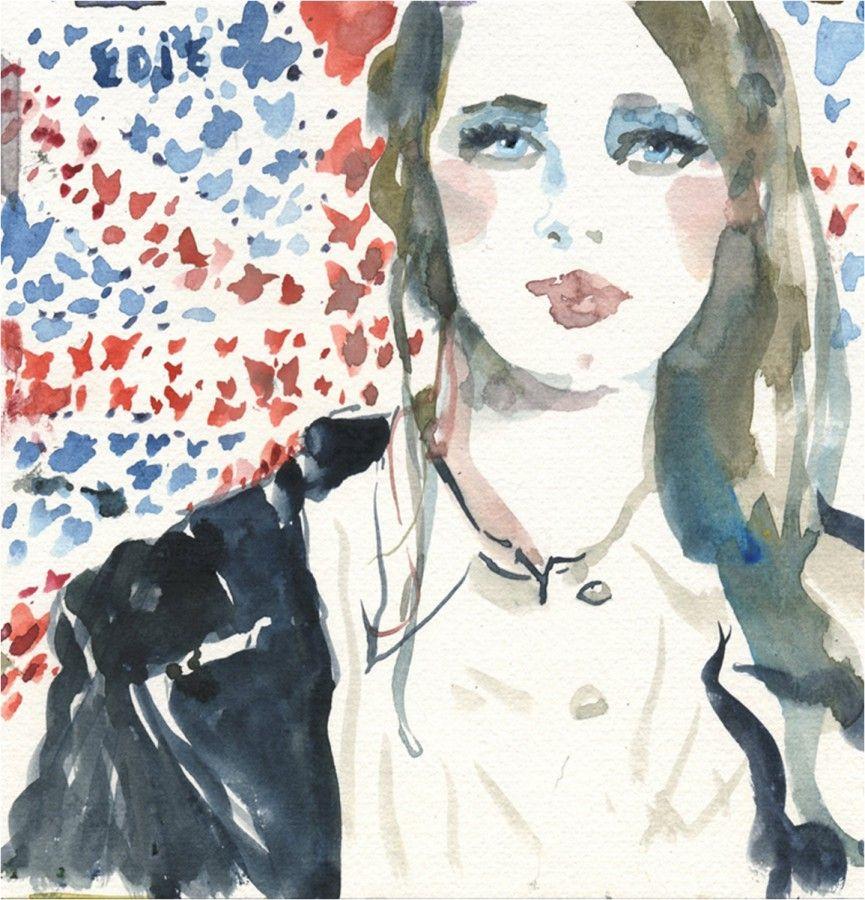 파올로 Galetto : 패션 초상화    캐롤라인 마레 샬