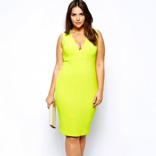 bonita y colorida buscar oficial garantía de alta calidad Asos Curve, vestidos de fiesta para lucir perfecta ...