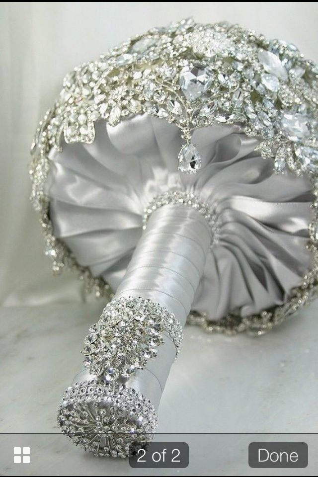 Brooch bouquet ideas