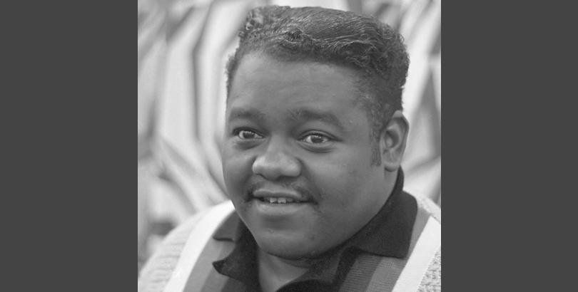 """Fats Domino was one of rock and roll's founding fathers. His recording of """"Blueberry Hill"""" was a huge hit, as were songs such as """"The Fat Man,"""" """"Ain't That a Shame"""" and """"The Big Beat."""" He appeared in the movies The Girl Can't Help It and Shake, Rattle & Rock. Domino passed away from natural causes on October 24 at this home in Louisiana. He was 89."""