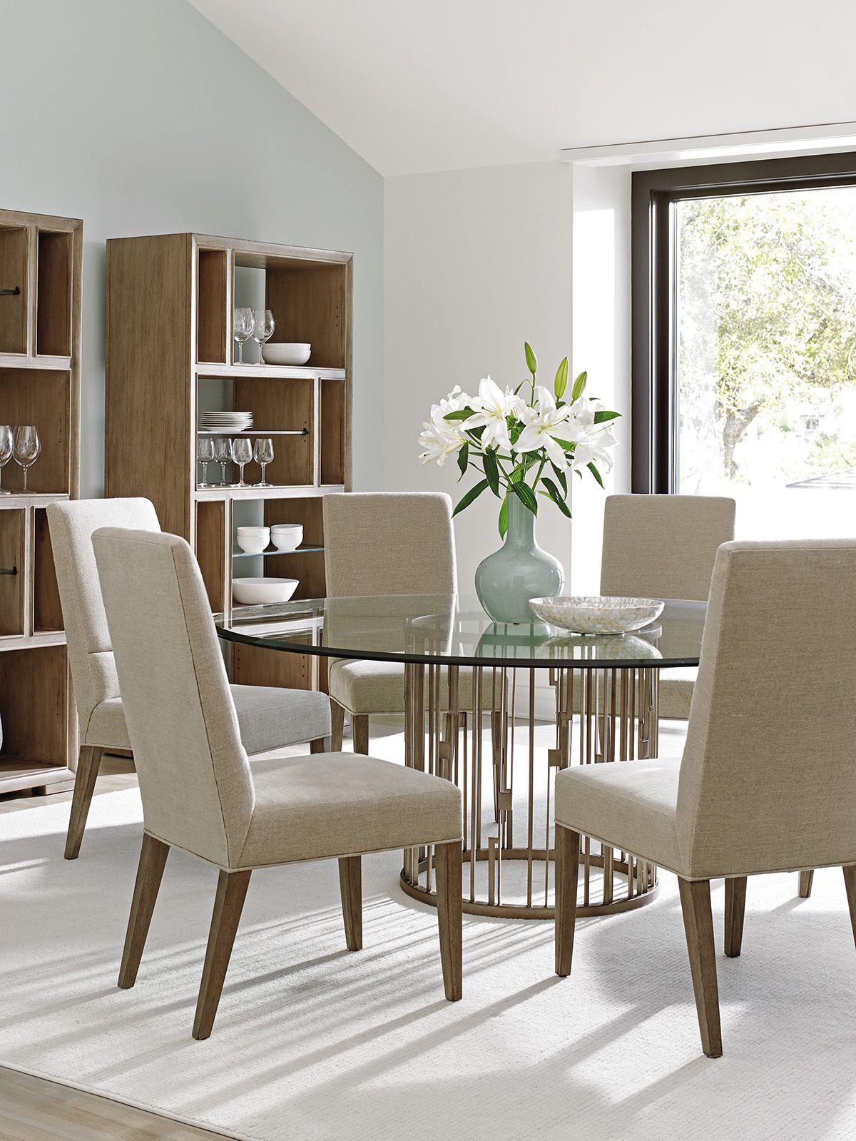 Casual Contemporary Dining Room Lexingtonfurniture Lhbdesign