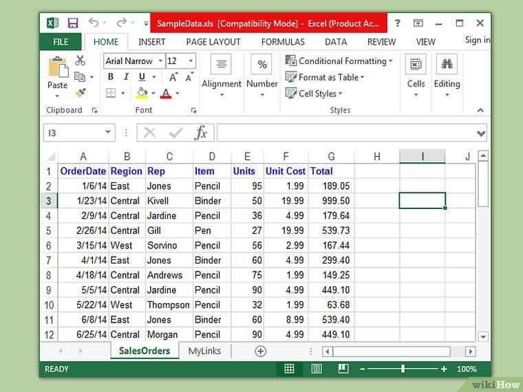 Create A Database From An Excel Spreadsheet Microsoft Excel