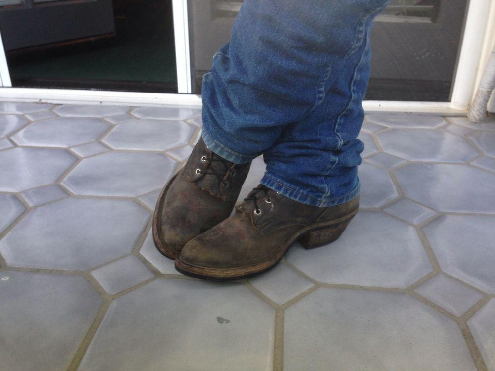 Vintage-NOCONA-Bullhide-3001-Tan-MENS-Cowboy-Western-BOOTS-Size-8 ...