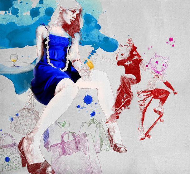 –  by Gabriel Moreno's Illustrations
