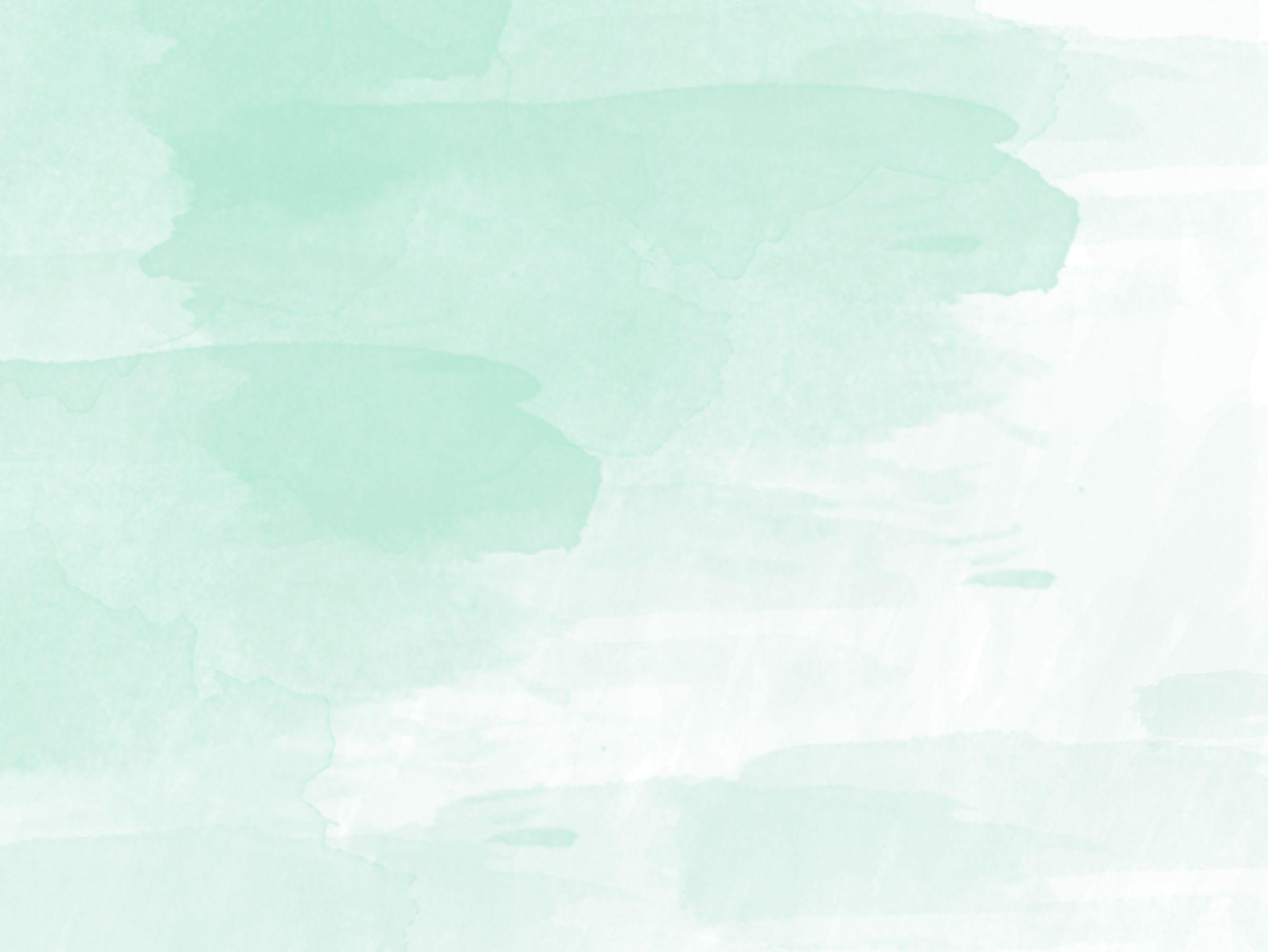 Pixejoo Wallpaper Pc Watercolor Desktop Mint