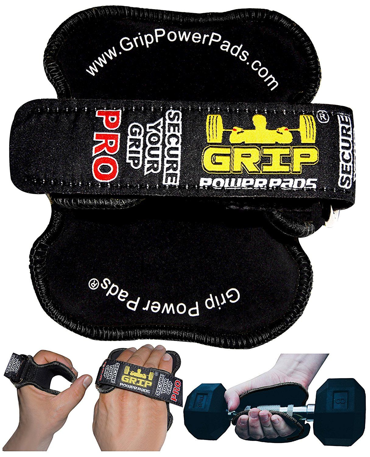 Lifting Grips by GRIP POWER PADSøPRO PATENTED Lifting Grips