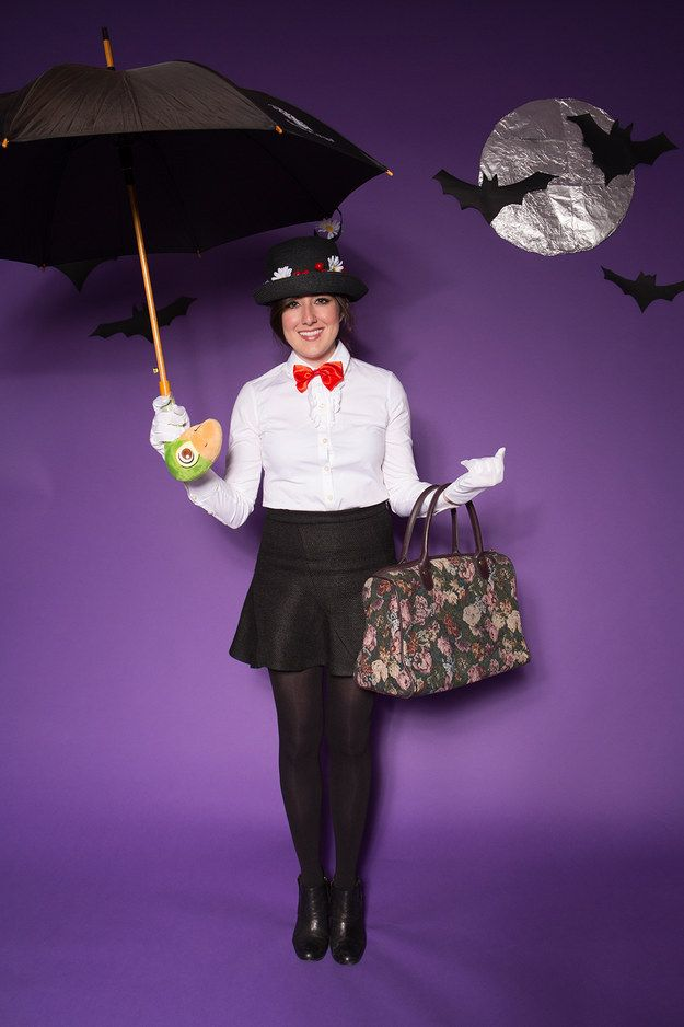 Mary Poppins   This Is How BuzzFeed New York Does Halloween