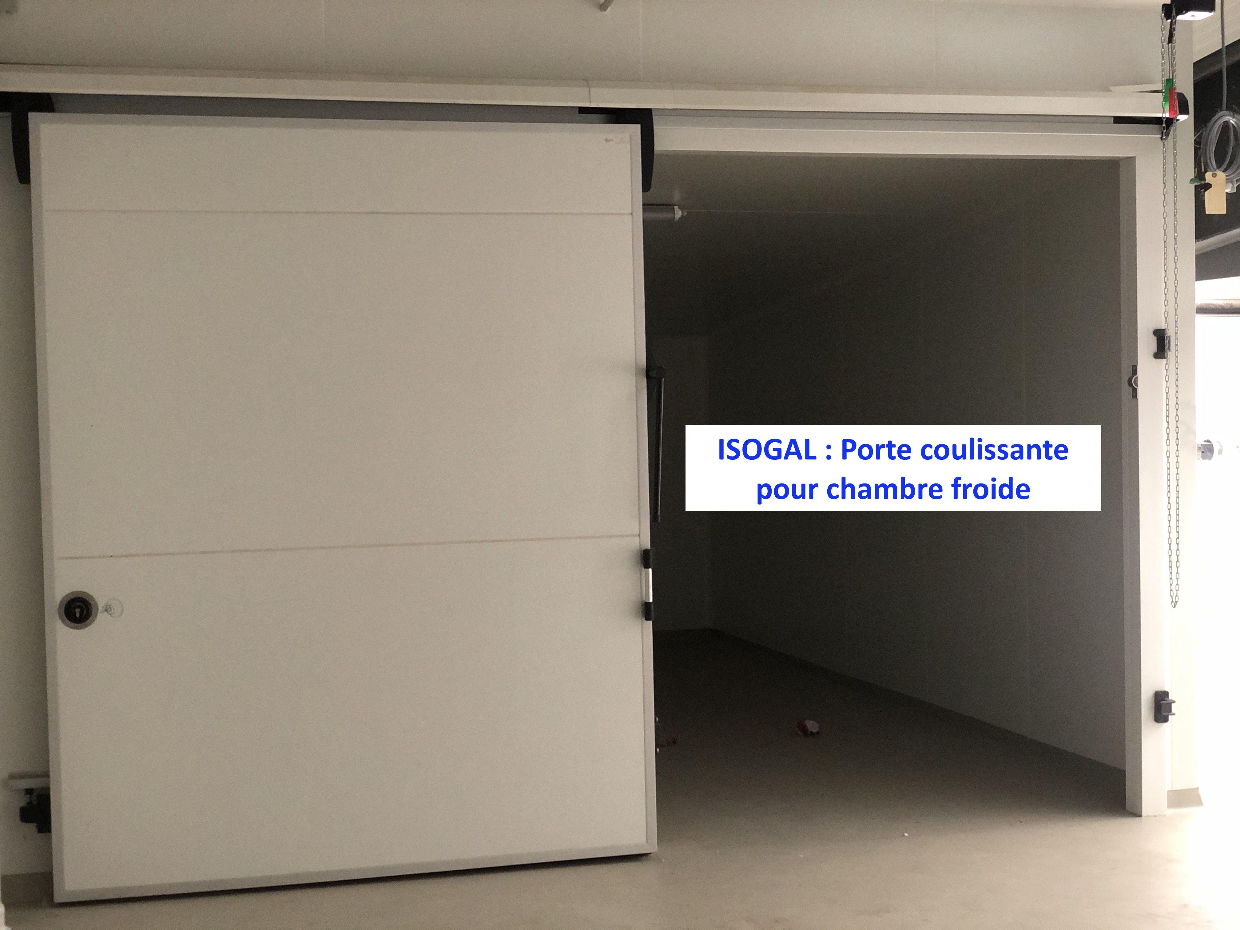 Porte Coulissante De Chambre Froide En 2020 Chambre Froide Plaque Pvc Porte Coulissante