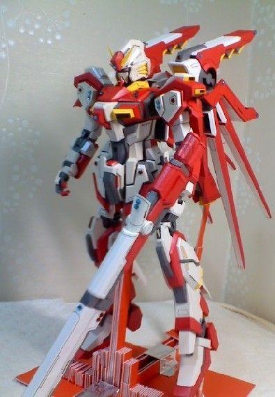 ff6862562fe65 Custom EG-001 Gundam Papercraft