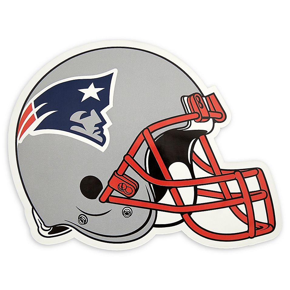 Nfl New England Patriots Large Outdoor Helmet Graphic Decal Nfl Futbol Americano Fiesta Americana