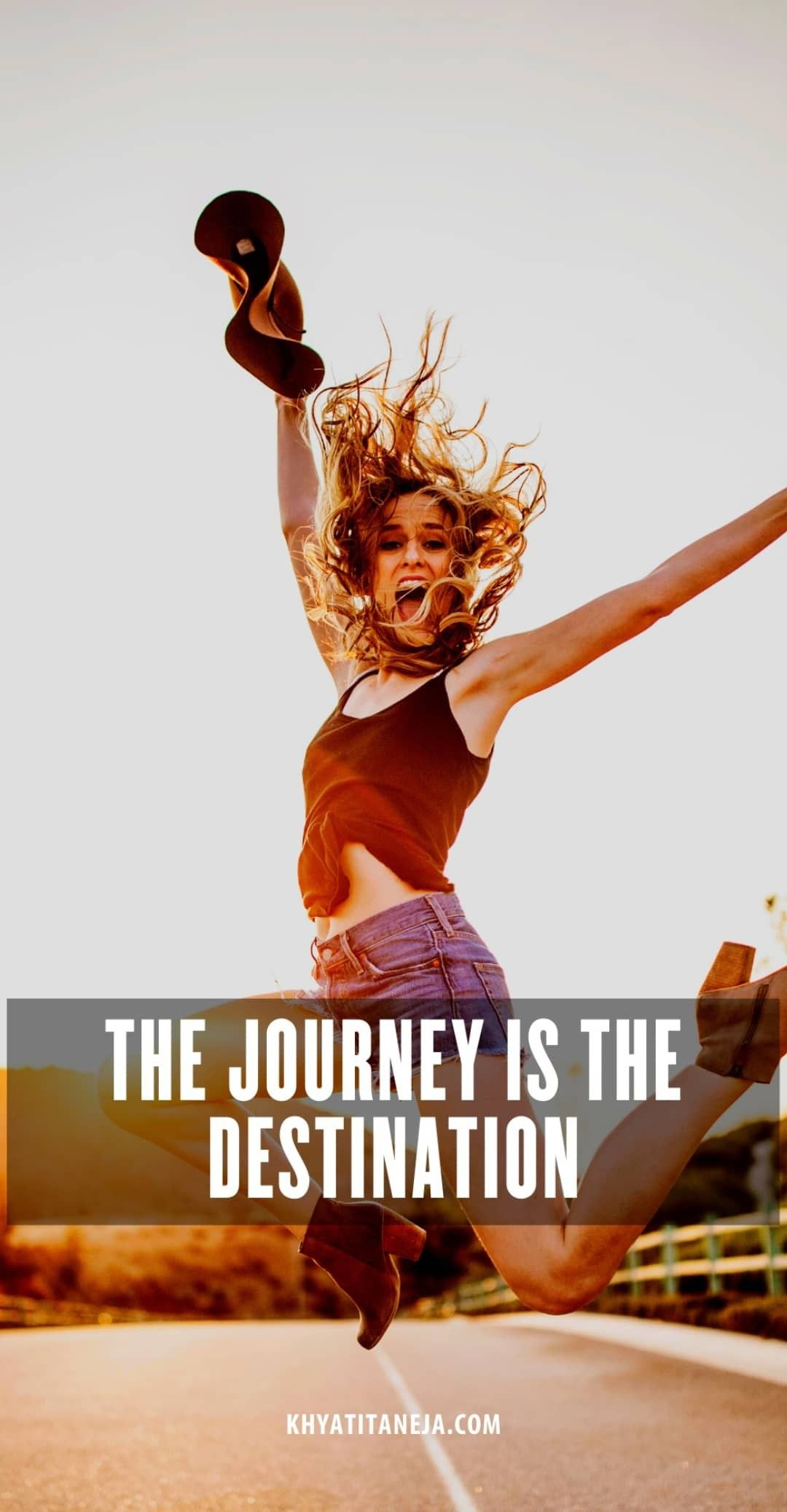 Famous #TravelQuote - The #Journey is the #Destination