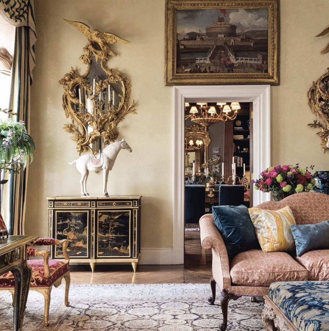 In The W O R L D Of Renowned Interior Decorator Michael S Smith