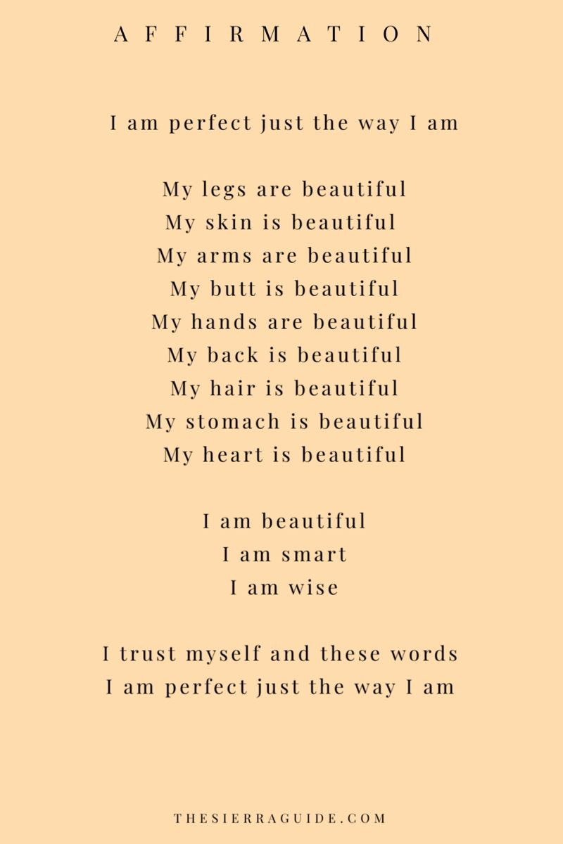 affirmations for self love ❤️