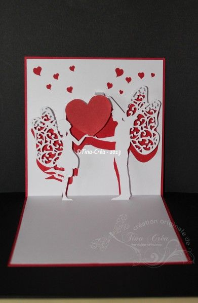 1000 images about faire part et cartes de mariage pop up on pinterest mariage unique and search - Faire Part Mariage Kirigami