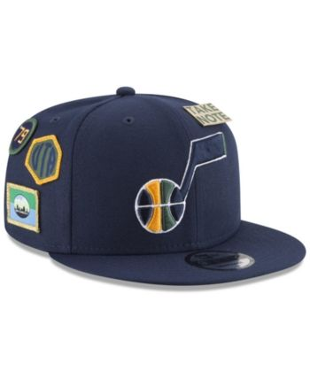 80cebebc New Era Boys' Utah Jazz On-Court Collection 9FIFTY Snapback Cap - Blue  Adjustable