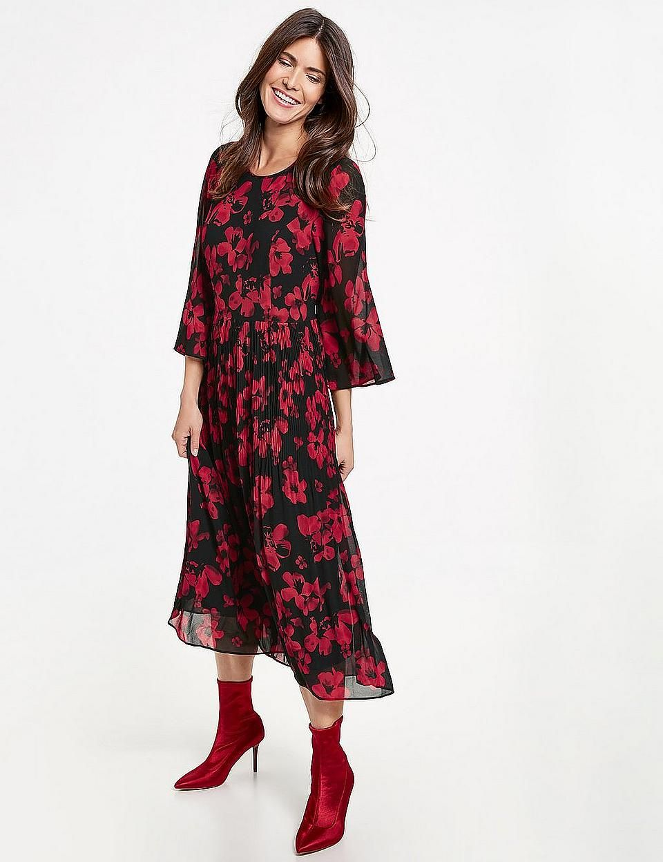 gerry weber kleid rot new arrivals 50f12 0b7f7